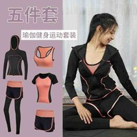 Simple elastic women's absorbing suit running sportswear Fitness Yoga sweat clothing