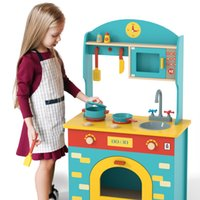 Birthday gift Wooden Play Kitchen Set for Kids your Other Children Furniture