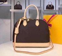 2021 Alma Bb Mode Frauen Umhängetaschen Kette Messenger Bag Leder Handtaschen Shell Brieftasche Geldbörse Damen Kosmetische Crossbody Taschen Tote