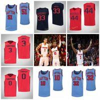 NCAA College Dayton Flights Basketball Jersey 0 Rodney Chatman 1 Obi Toppin 10 Jalen Crutcher 11 Sean Loughran 사용자 정의 스티치