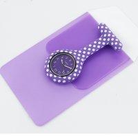 Borsa a penna Polka Dot Set Silicone Set calendario Pocket Pocket Regalo medico per Nurse Doctor Hospital Watch