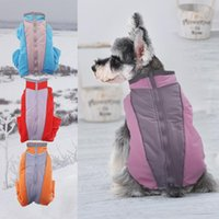 Dog Apparel SVIE Overalls For Dogs Warm Waterproof Small Winter Jumpsuit Trousers Male  Female Reflective Pet Puppy Down Jacket