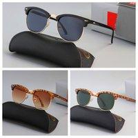ماركة فاخرة مكبرة مصممة الكلاسيكية النظارات الاستقطاب الرجال النساء الطيار النظارات الشمسية uv400 نظارات الممسحة الإطار المعدني بولارويد عدسة