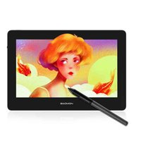 GAOMON PD1320 13.3-Zoll-Digital-Grafik-Tablet-Monitor voll laminierter HD 86% NTSC-Farbspiel-Bildschirm Zeichnung Malerei