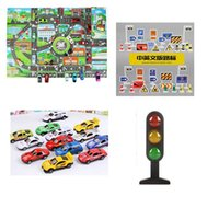 Party Masks Lifelike City Map Traffic Light Sign Roadblock Novelty Learning Education Funny Gadget Interesting Toys For Children Gift