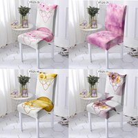 Chair Covers Flower Wreath Pink Living Room Cover Wedding Grey Dining Chairs Armchair