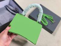 Mise à jour de la couleur verte de la couleur verte designeurs femmes de luxe de luxe Sacs alligator cuir baguette HASP couverture intérieure fermeture à glissière de poche sac à bandoulière mode femme sac à main sac à main