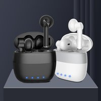 Headphones & Earphones TWS Bluetooth 5.0 Wireless Noise Cancellation True Stereo Headsets Sports Touch Cantrol With Mic