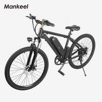 MK010 Bicycle elettrico 26inch Mankeel Smart Scooter E-Bike 120kg 10.4Ah Batteria 40km Max chilometraggio CE / RoHS / certificazioni UL / FCC Magazzino Polonia