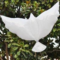 結婚式のヘリウムの膨脹可能な生分解性の白い鳩の風船GWD9322
