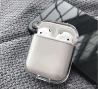 DHL 100pcs Transparent shell Earphone Case For AirPods pro Case PC Transparent Protective Cover For Airpods Accessories Charging Box