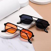 GM2021 Nuovi occhiali da sole Doppia canzone femminile Yanfei Style Trendy Stesso fascio vuoto quadrato maschio anti-ultravioletto Valt