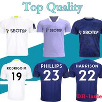 22 22 Leéds Home Soccer Jersey Uniteds T Roberts 2021 2022 Harrison Costa Alioski Klich Hernandez Bamford Clarke Leedes рубашка