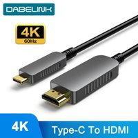 Audio Cables & Connectors 4K 60Hz Optical Fiber Type C To 2.1 Cable ARC HDR TV BOX High-Definition Multimedia For Huawei Xiao