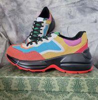 جودة عالية جلد حذاء الرجال النساء أحذية مع الفراولة موجة الفم النمر ويب طباعة خمر المدرب home011 01