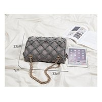 Fashion Bag And Large Women Shoulder Bags Canvas For Female Luxury Travel Purses Handbags Quilted Designer Iwfiq