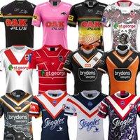 سيدني Roosters Rurogby الفانيلة 2021 Penrith Panthers Orthenous Jersey St.George Illawarra Dragons Polo Shirt The Wests Tigers قميص S-3XL