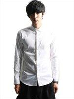 Men's Casual Shirts Long-Sleeve Shirt Spring And Autumn Yamamoto Style Urban Youth Personality Fashion Slim Size