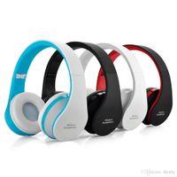 NX-8252 Bluetooth Earphones Big Casque Audio Auriculares BT Earphone For iphone X samsung S8 cellPhones Headset Cordless Wireless Headphone