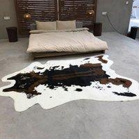 Carpets Cow Tiger Print Area Rug Non-slip Carpet Bedroom Office Livingroom Floor Mat