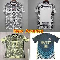 2021 Liga MX Club América 3ª Terceiro Branco Jersey 22 22 Home Away Giovani Ochoa Cordova Camisa de Futebol Kit Homens Mulheres Camiseta de Futbol
