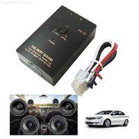 Samochód Stereo-Audio RCA-Speaker Drut Converter Adapter wyjściowy Wyjście Wysokie do niskiego poziomu Kontrola linii wyjściowej Auto