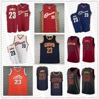 Vintage Collin 2 Sexton LeBron 23 James Basketbol Formaları ClevelandCavaliersNbaErkekler retro jersey