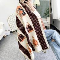 Schals für Frauen Winter Herren Schal Luxe Pashmina Warme Mode Imitieren Wolle Kaschmirschals 180x65cm