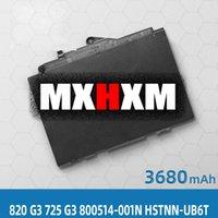 Pour HP ELITEBOOK 820 G3 725 G3 800514-001N HSTNN-UB6T Batterie d'ordinateur portable HSTNN-UB6T