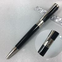 Роскошь S.T Duponte Rollerball Pen Super Design Gold Clip Office Supply Wateral Wholesal Рождественский подарок