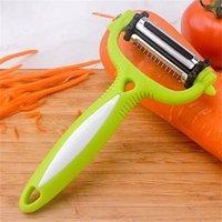 Rostfritt stål roterande potatis peeler grönsak frukt cutter kök 559 r2