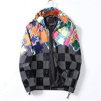 Brief Druck Muster Hoodies Jacken Designer Mäntel Winter Für Herren Frauen Mode Langarm Hip Hop Sports Streetwear Windjacke Mantel mit Reißverschluss