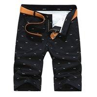 Woodvoice Marke Männer Shorts Sommer Mode Solide Farbe Lässige Männliche Shorts Bermuda Masculina Knielänge Plus Größe 28-40 Gerade 210330