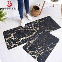 Bubble kiss - PVC kitchen carpet marble style floor entrance soft and delicate washable