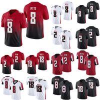 8 Kyle Pitts 2 Matt Ryan Atlanta 18 Falcons Calvin Ridley 7 Younghoe Koo Football Jersey