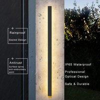 Outdoor Wall Lamps LED Light Long Fixture Lamp Modern Waterproof IP65 Porch Garden Strip Indoor Bedroom Bedside Decoration