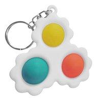 Children Adult simple dimple fidget toy In Stock Creative mini Pressure Reliever Board Controller Educational
