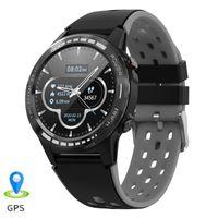 M7s Bluetooth Call Smart Watches с GPS Altimeter Барометр Компас Сердечное Сердцетеру Фитнес Tracker SmartWatch Android IOS