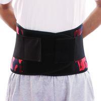 Men's Body Shapers Mens Slimming Belt Fat Burner Waist Trainer Male Tummy Control Promote Sweat Shapewear Modeling Support Corset
