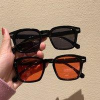 Verão moda óculos de sol pequeno quadro redondo uv400 tons de doces cor vintage óculos ao ar livre sol proteção 7 cores 10 pcs navio rápido