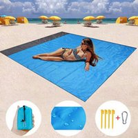 2.1m * 2M WateroMPer Beach Couverture Portable Portable Tapis de pique-nique Camping Matelas de matelas Camping Camping Camping Cyz3067