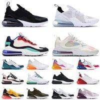 270 Hommes Femmes Sports Chaussures De Course Classique Noir Blanc 27C Bauhaus Blue Light Gradient Spirit Teal 270s Trainers Authentic Sneakers 36-45