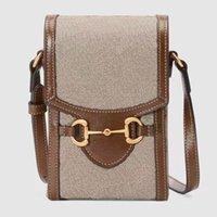 Sac de concepteur pour femmes pour femmes Mini sac à main avec chaîne unique porte-pièces Porte-pièces Dames Bolso Convient Téléphone mobile Bolsa