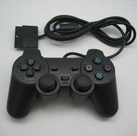 Prezzo di fabbrica PlayStation 2 Wired Joypad Joysticks Controller di gioco per PS2 console Gamepad Doppio shock di DHL