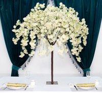 Yeni Ağlayan Kiraz Çiçeği Dilek Ağacı Yapay Çiçek Bitkileri Ağacı Düğün Masa Merkezi Mağaza Otel Noel Ev Dekor
