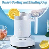 Quick Heating Cooling Cup Home Office Cold Drink Machine Insulation Refrigerator Aluminium Cooler Mug Holder