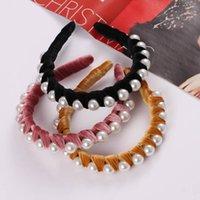 Ins Pearl Girls Hair Sticks Fashion Designer Headband Princess Headbands Kids Bands Accessories B5530