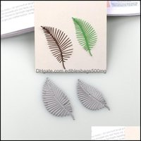 Painting Arts, Crafts Gifts Home & Gardenpainting Supplies Duofen Metal Cutting Dies Leaves Stems Stencil Diy Scrapbook Paper Drop Delivery