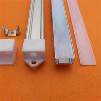 Bar Işıkları Yangmin 2 M / PCS U Şekli LED Çizgili Süper İnce Alüminyum Ekstrüzyonlar için Alüminyum Profil