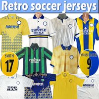 Retro Leeds Hasselbaink Fussball Jersey 72 77 78 1989 90 91 92 93 96 98 98 99 2000 01 United Smith Kewell Home White Away Hopkin Classic Vintage Alte Fußball Hemd Top